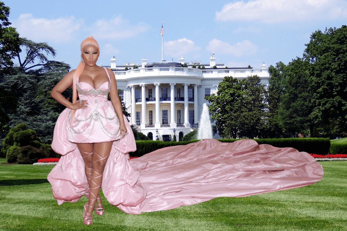 """Nicki Minaj's Claims of Being in """"Twitter Jail"""" & Going to the White House Have Been Debunked"""
