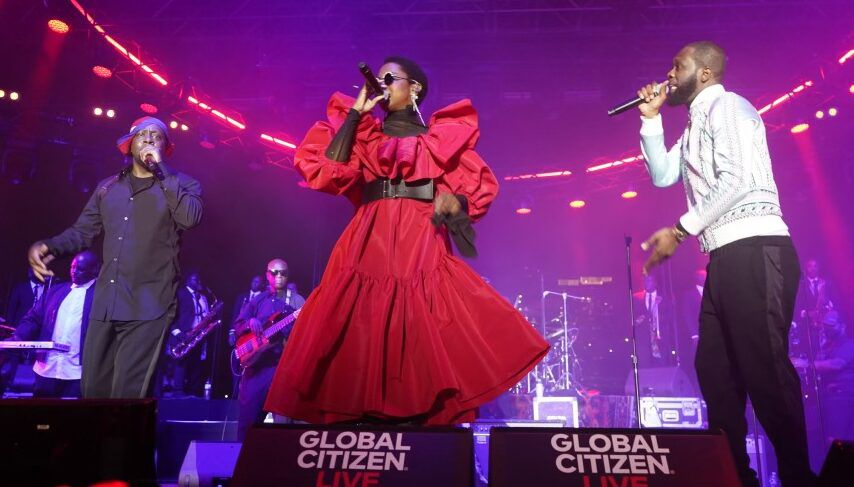 Fugees Launch Tour in NYC; Ms. Lauryn Hill Says, 'Respect The Miracle!'