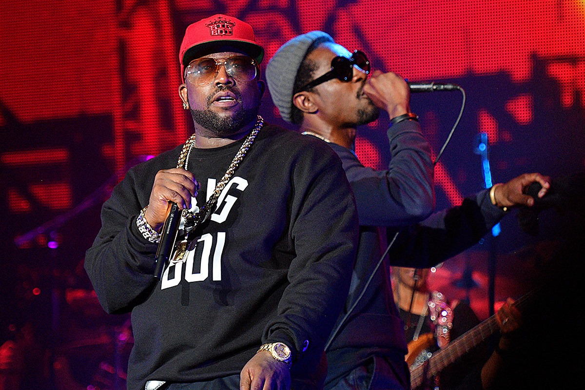 Andre 3000 and Big Boi Attend College Football Game Together, Spark OutKast Reunion Rumors