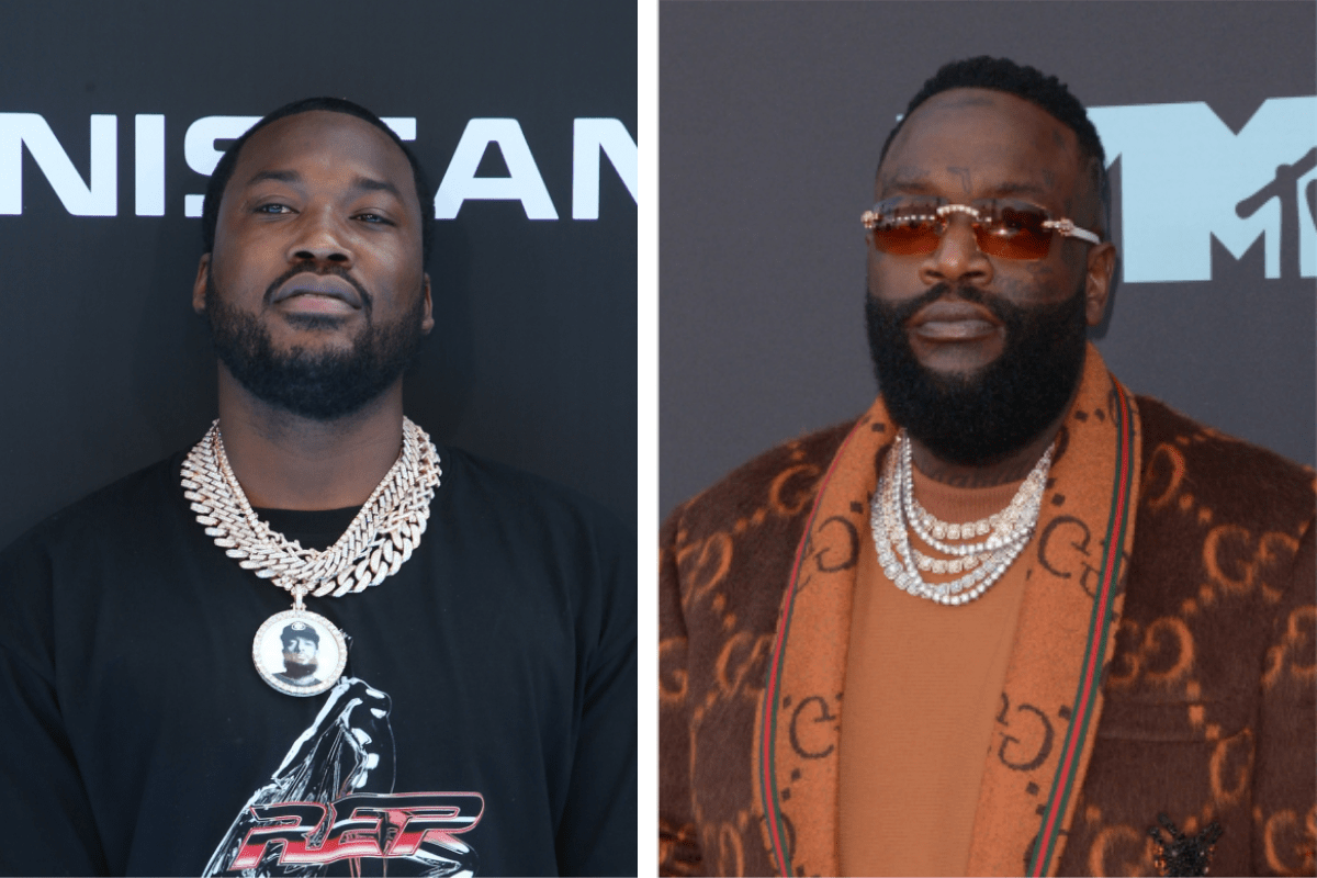 """Rick Ross Promotes Meek Mill's Album Amid Rumors Of """"MMG Beef"""""""