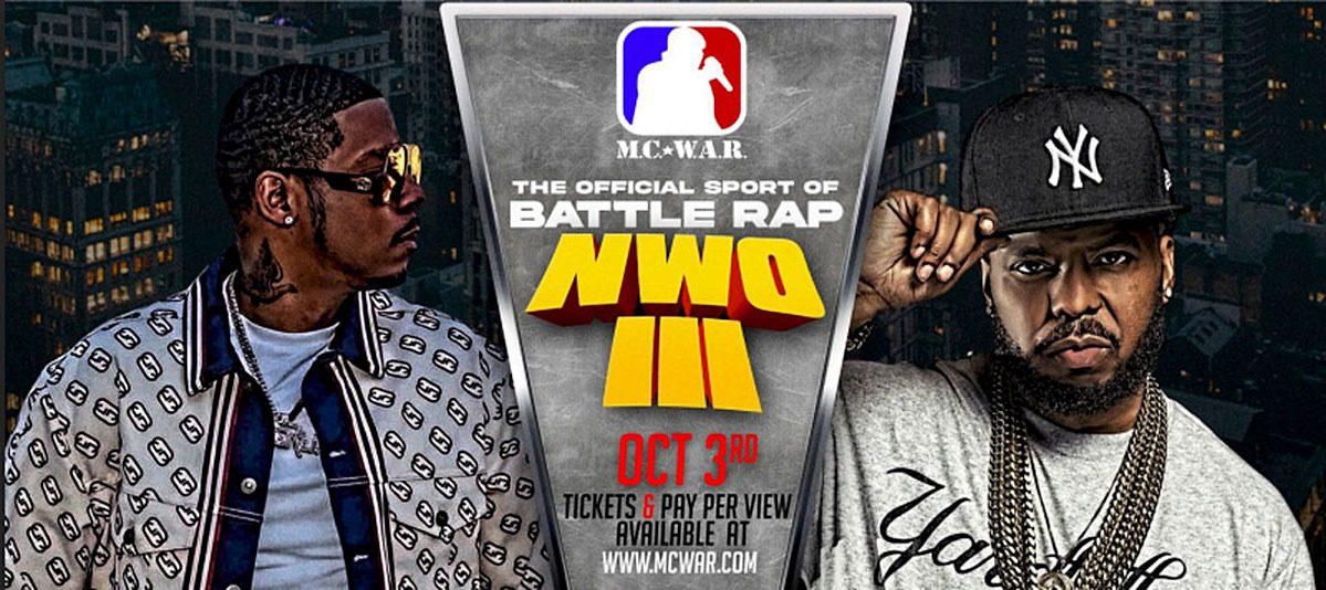 Vado and Saigon to Compete in M.C. W.A.R.'s New World Order III Battle Rap Event