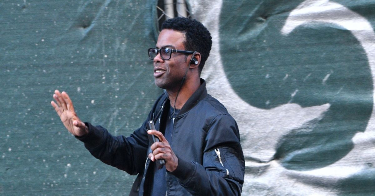 Chris Rock Cracks Jokes About Battle With COVID During Set With Dave Chappelle