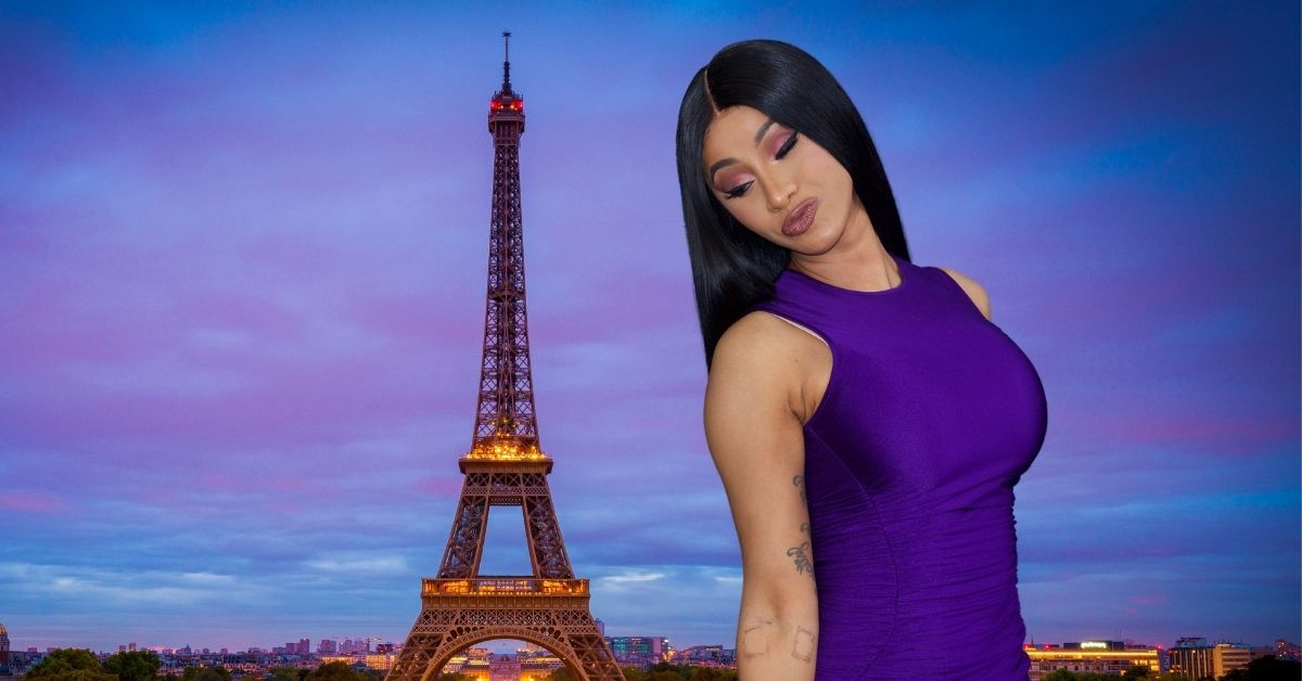 Cardi B Infuriates Tattooed Guy Who Claims Rapper Used Newborn As An Excuse To Attend Paris Fashion Week