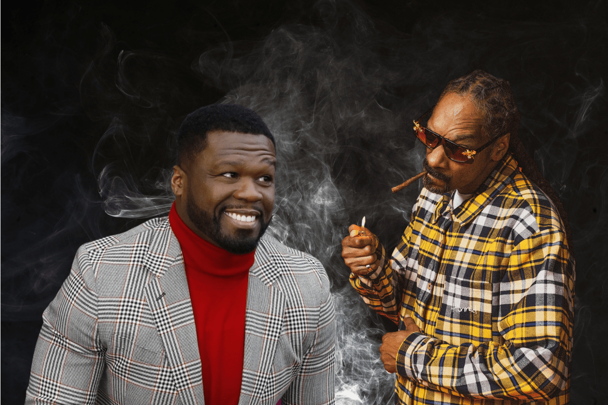 50 Cent Trolls Snoop Dogg After Failing to Stop His On-Set Smoking