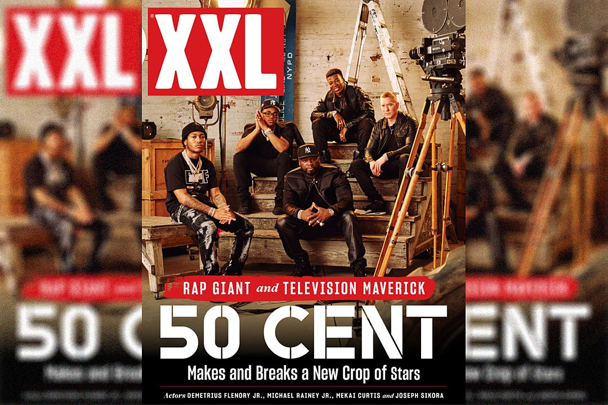 50 Cent and His New Crop of Acting Stars Michael Rainey Jr., Demetrius Flenory Jr., Joseph Sikora and Mekai Curtis Featured on XXL Digital Cover