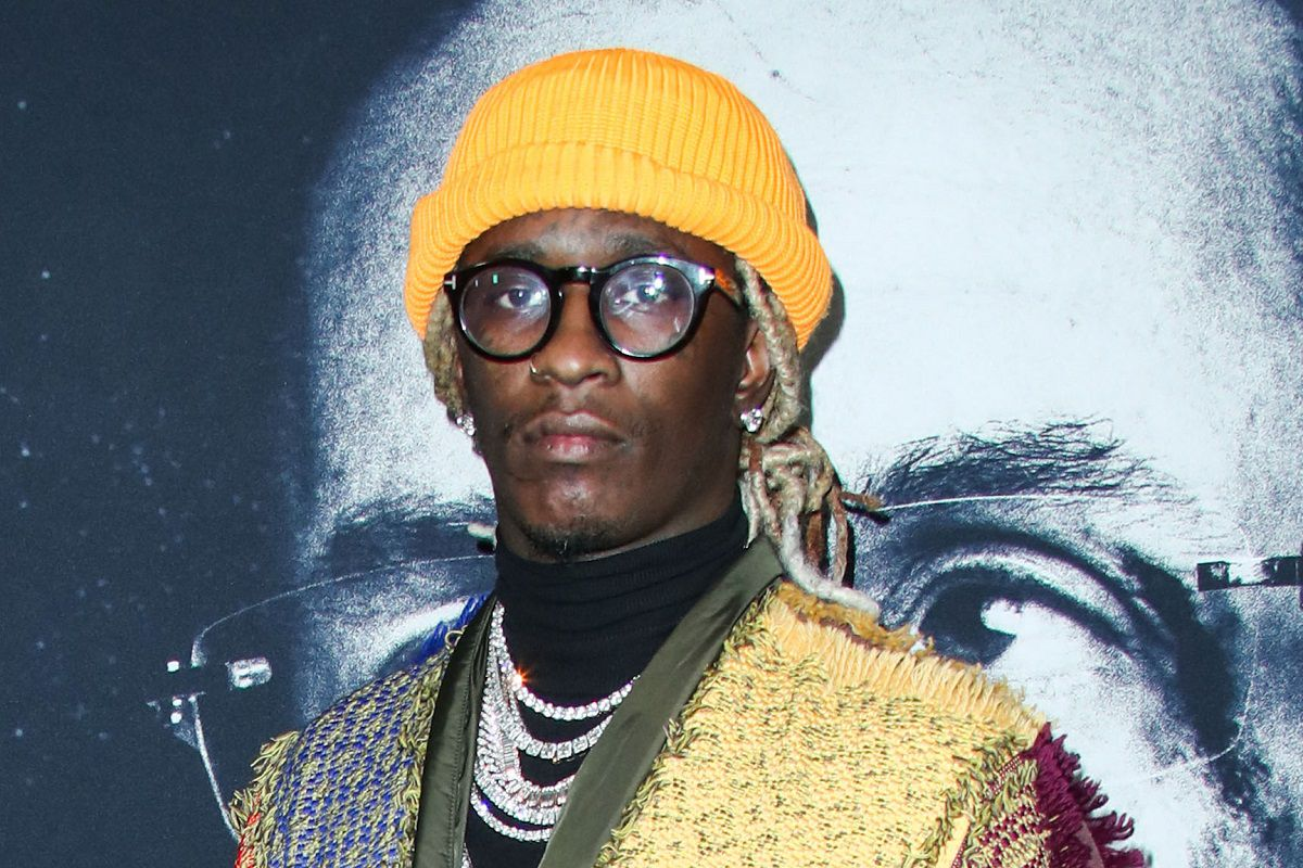 Young Thug Believes Kanye 'Could Survive In The Trenches'