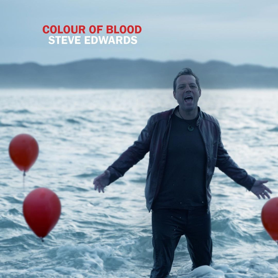 """Steve Edwards Drops His New Single """"Colour of Blood"""""""